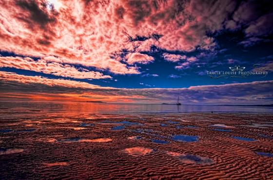 Fraser Sunset